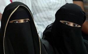 Mujeres con abayas