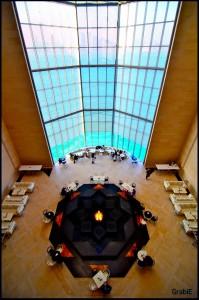 Cafetería del interior del M.I.A.