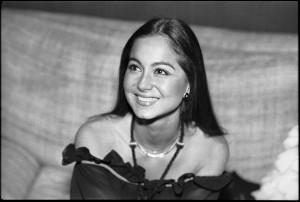 Isabel Preysler, año 1977.
