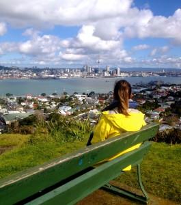 Panorámica de Auckland desde Mount Victoria (Devonport).