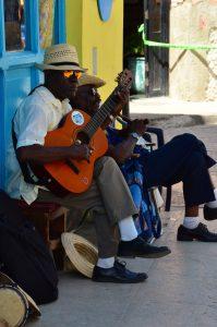 Músicos en La Habana Vieja (imagen propia)