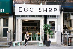 Egg Shop en Nueva York