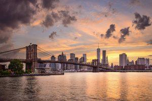 Atardecer en Manhattan desde Brooklyn