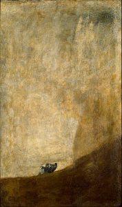 El perro, Goya (Museo del Prado)