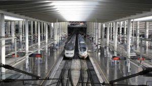 Imagen de la estación de Atocha en Madrid.