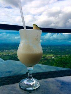 Piña colada con vistas a Jarabacoa