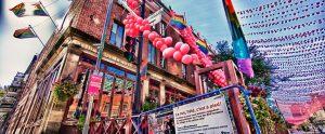 Gay Village en Rue Saint-Catherine