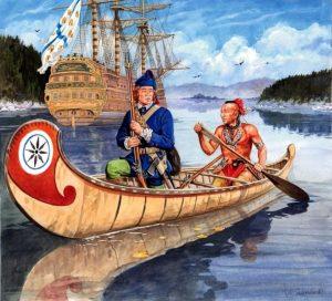 Colonización francesa en Canadá