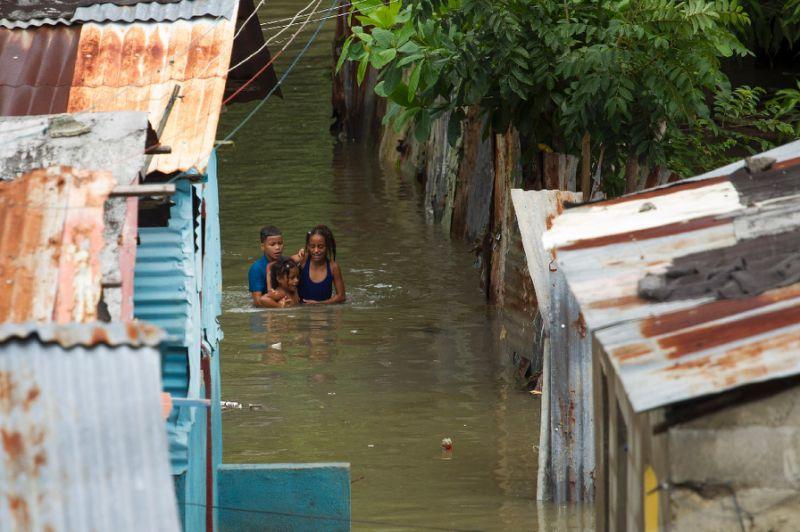 Efectos del huracán Matthew en República Dominicana en el año 2016