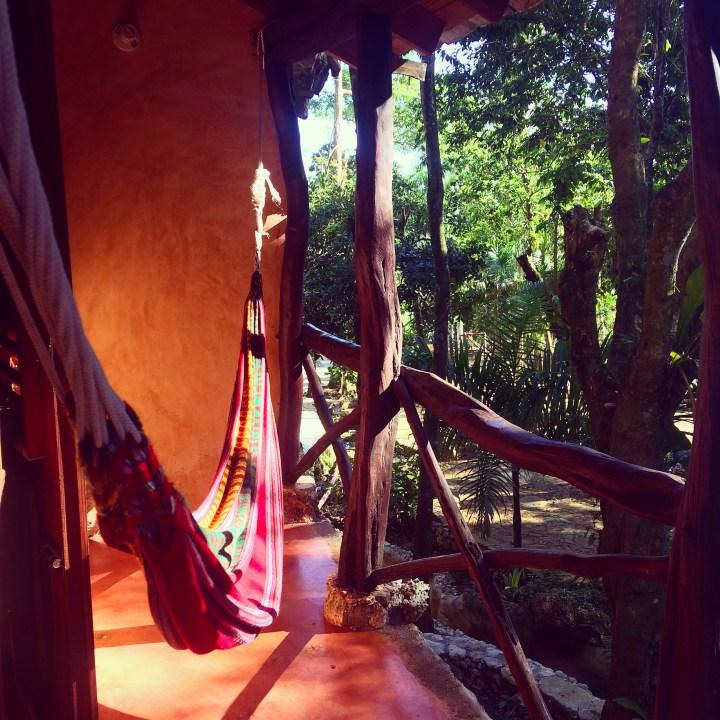 Mi habitación en Paraíso Caño Hondo (P.N. Los Haitises)