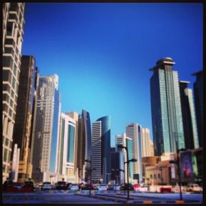 Una ciudad sin alma. West Bay area. Doha.