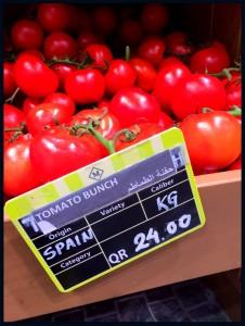 Tomates españoles en Monoprix