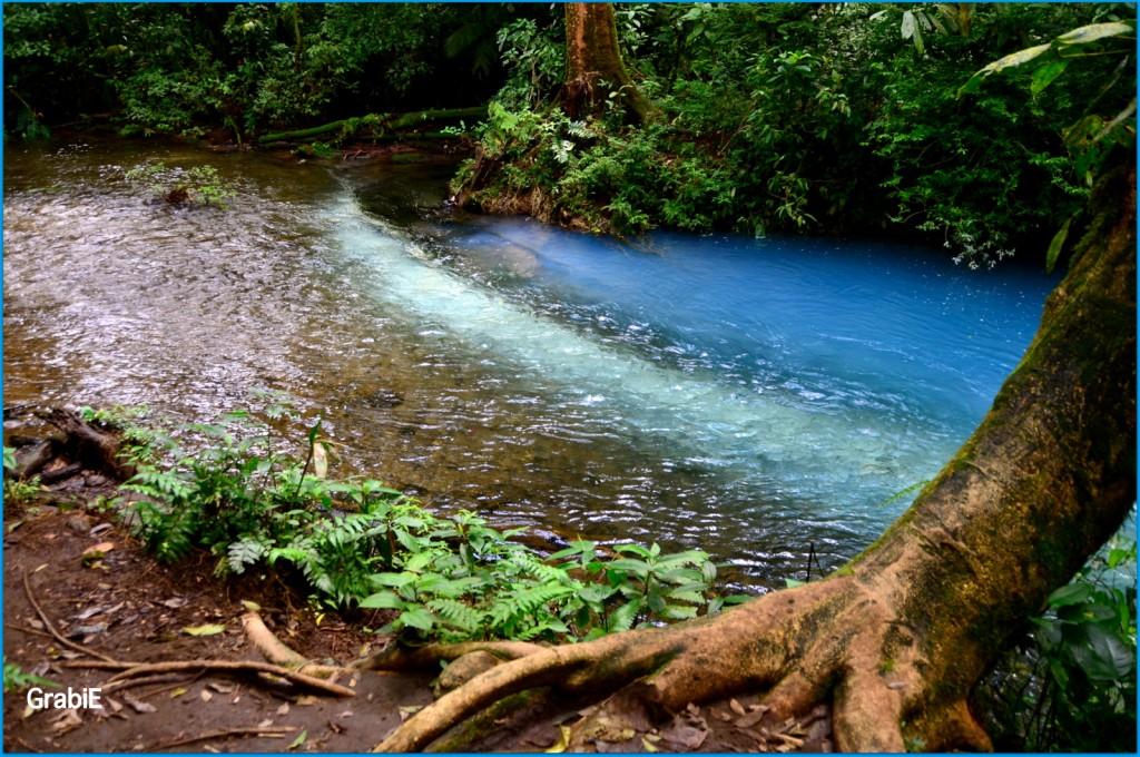 Río Celeste en P.N. Rincón la Vieja
