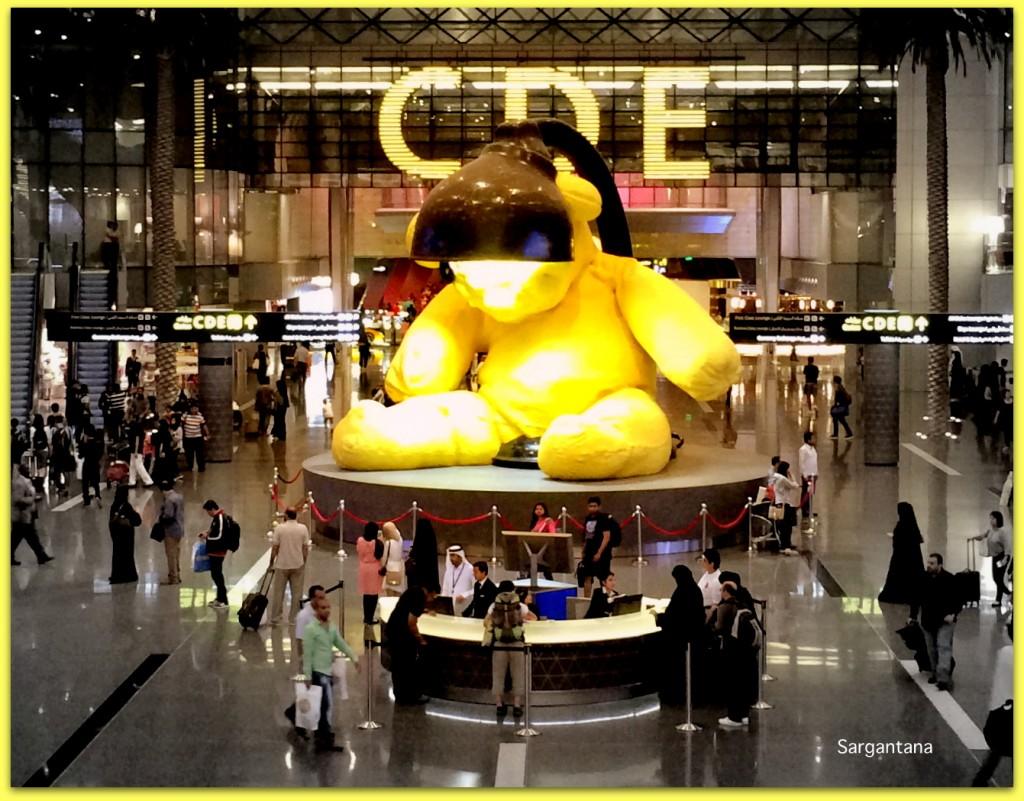 Teddy Bear HAMAD Doha´s International Airport