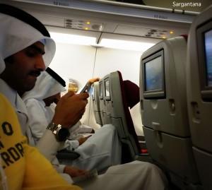 Vuelo Qatar AIrways rumbo Salalah