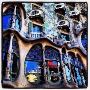 Fachada Casa Batlló by Sargantana