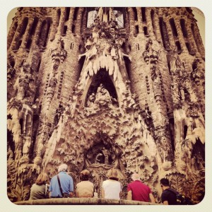 Fachada Sagrada Familia by Sargantana