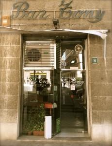 Bar Tony, Plaça Santa Eulàlia de Palma.