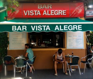 Bar Vista Alegre, Palma.