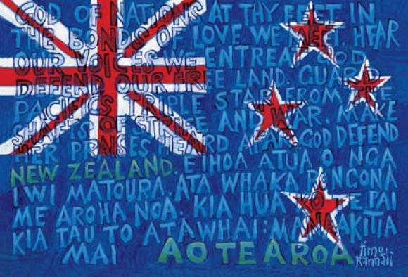 New_Zealand_Flag_with_National_Anthem_in_Maori_and_English
