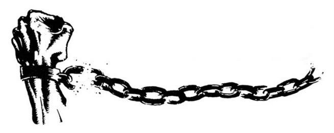 """Encadenarse a la """"verdad"""" o huir hacia la libertad."""