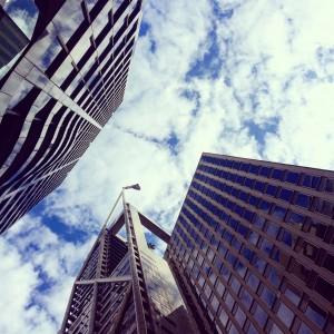 Rascacielos en el Sydney Center Business District, CBD.
