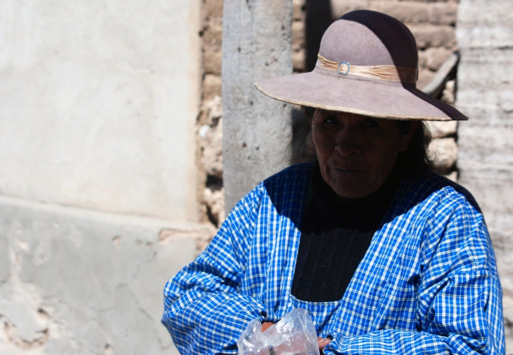 Imagen tomada en Uyuni, Bolivia.