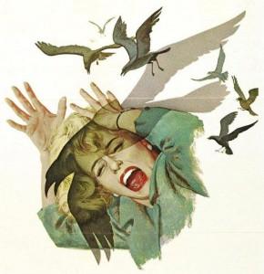 """Tippi Hedren en """"The Birds"""""""