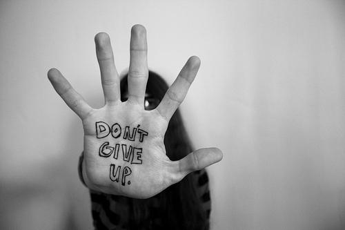 No te rindas / Don't give up