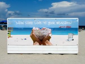 Muestra tu amor por tus playas.