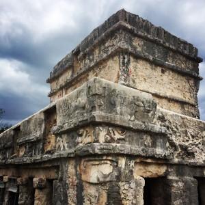 Restos arqueológicos Tulum.