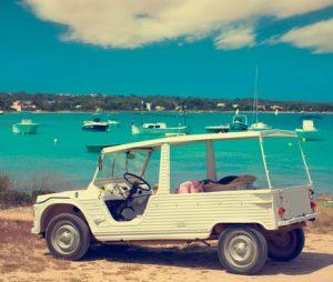 Formentera: Meari en Estany des Peix.
