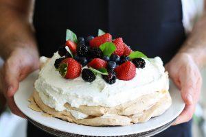 Pastel pavlova, a pesar del nombre, es neozelandés y no lleva kiwi.