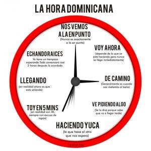La hora dominicana