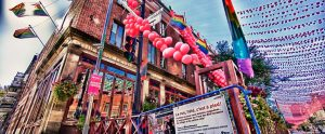 Gay Village en Rue Saint-Catherine