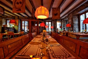 Interior Restaurante polaco Stash