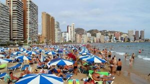 Playa de Benidorm (Alicante)