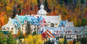 El pueblo de Mont Tremblant.