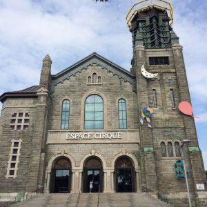 Iglesia reconvertida en el barrio Cité-Limoilou