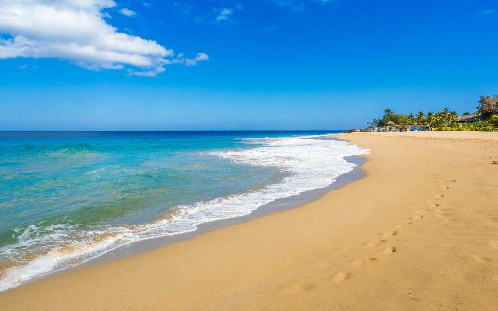 Espectacular imagen de la playa Sosúa