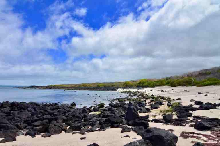Playa Baquerizo en Isla San Cristóbal (imagen propia)