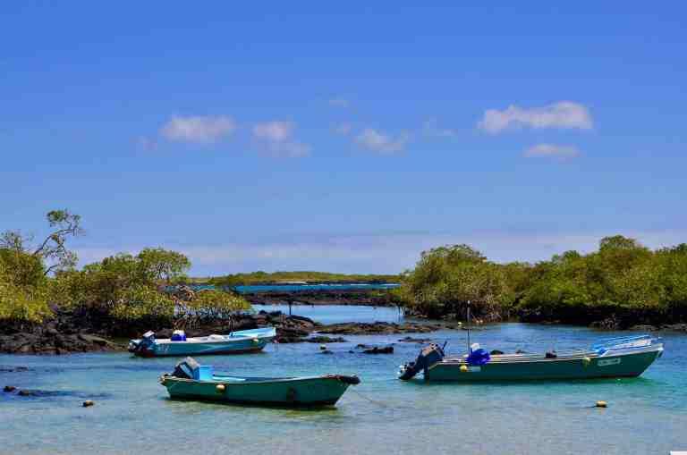Puerto Villamil en Isla Isabela (imagen propia)