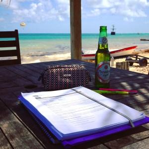 Decido trasladar mi oficina a la playa