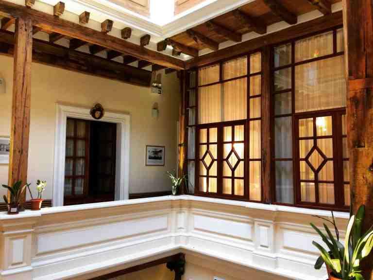 Casa El Edén, en la calle Esmeraldas del Centro Histórico de Quito