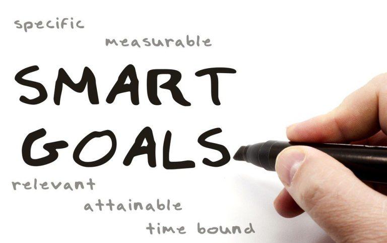 Utiliza el método SMART para fijarte objetivos