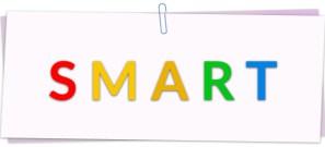 SMART: eSpecífico, Medible, Ambicioso, Realista y fijado en el Tiempo