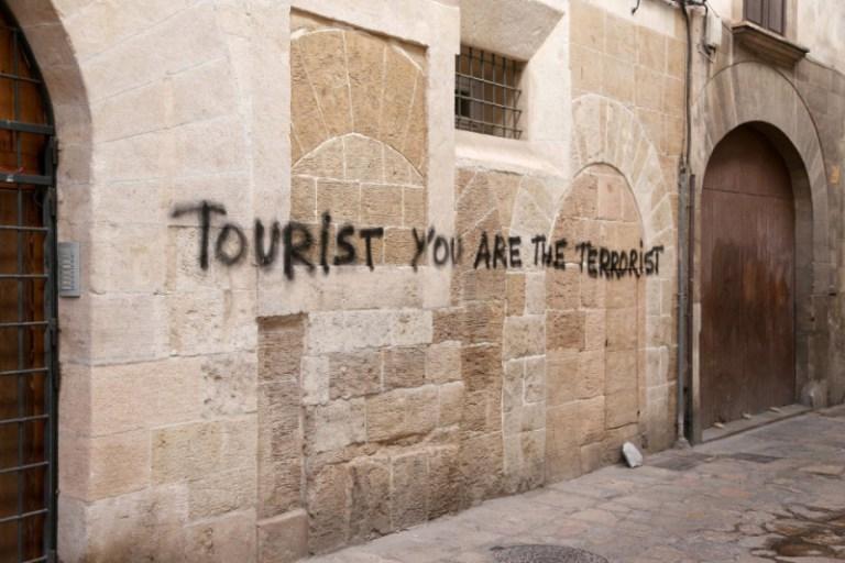 Turista, tú eres el terrorista (Palma)