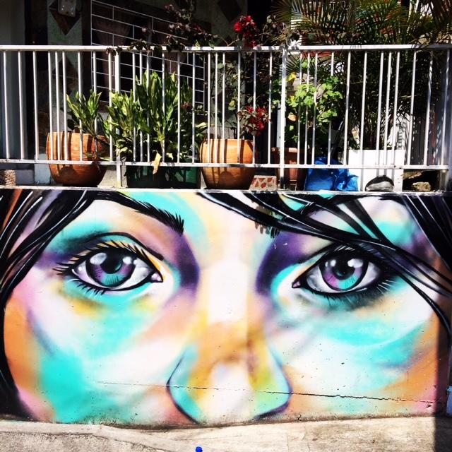 Graffiti Comuna 13, Medellín