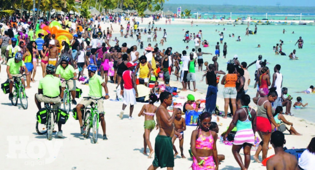 Playa de Boca Chica, puro Caribe