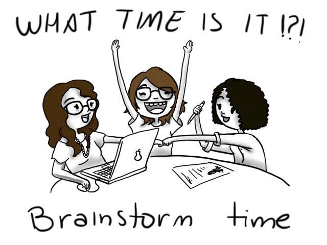"""Antes de pasar a la acción practica el Brainstorming o """"tormenta de ideas"""", mejor en compañía"""